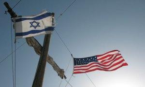 Drapeaux Israélien et Américain