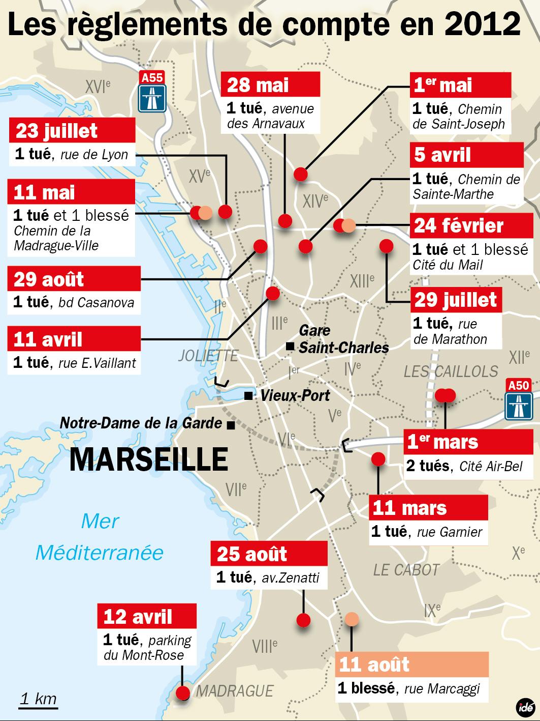 Marseille comment la police a fait reculer la d linquance actu policing - Le journal de marseille ...